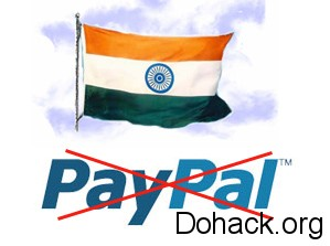 Paypal india Issue
